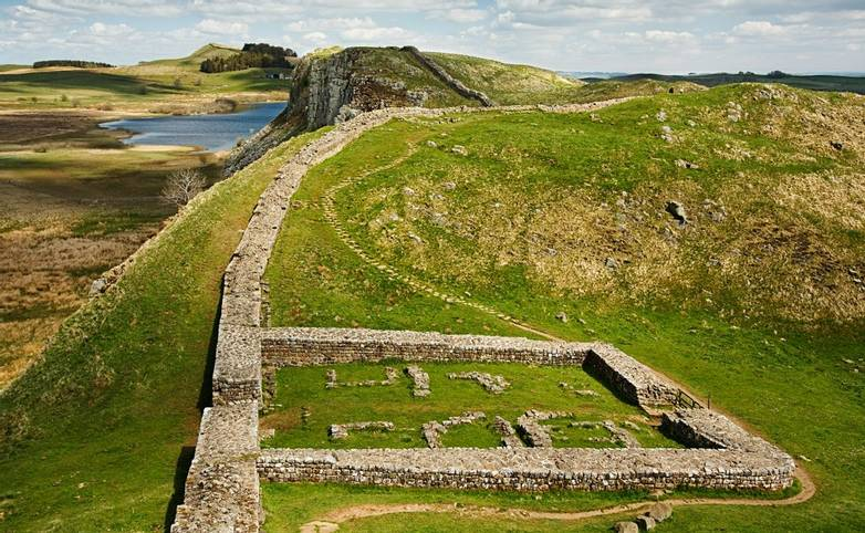 Milecastle 39 on Hadrians Wall