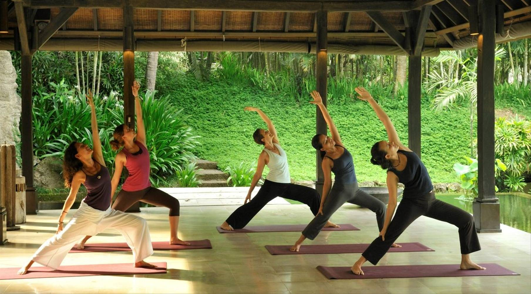 De-stress with restorative yoga at The Farm