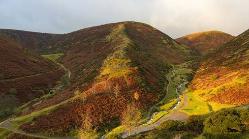 The Shropshire Hills - Eastern Hills Guided Trail Holiday