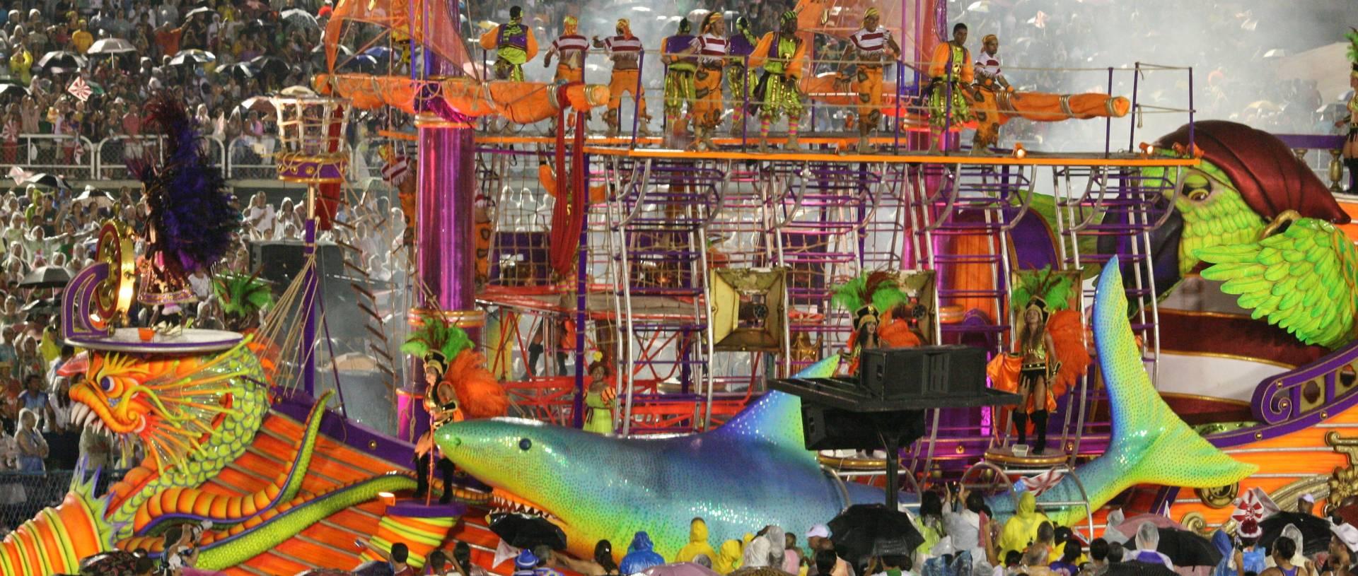 Carnival Floats, Rio