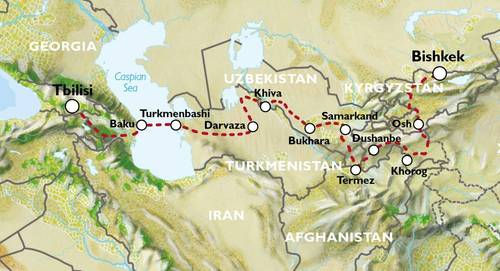 EXPLORATORY - TBILISI to BISHKEK (39 days) - Ultimate Asia Overland