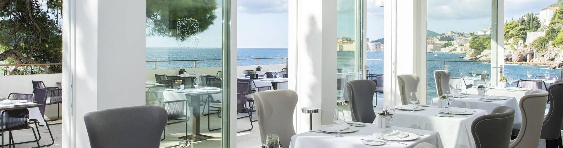 Spectacular seaview from the dining room at Hotel Villa Dubrovnik.jpg