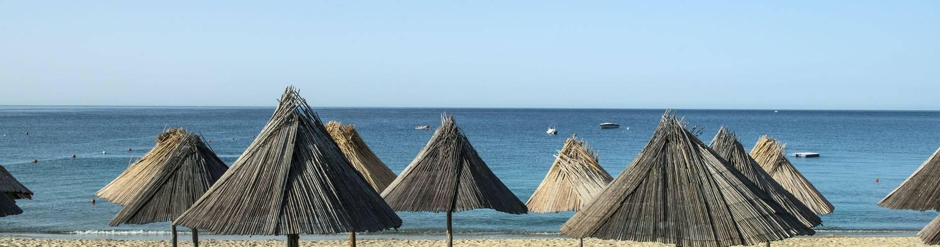 The beach at Hotel Cormoran, Villasimius
