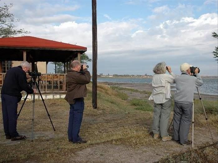 Birding at Pomorie (David Morris)