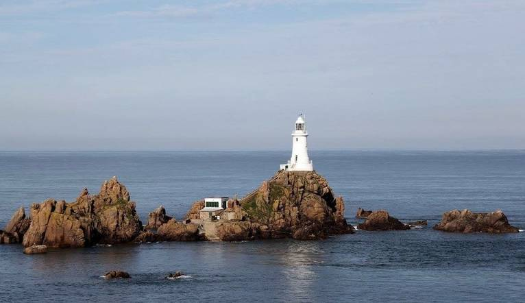 Corbiere Lighthouse at high tide 21.JPG