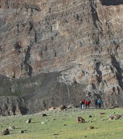 Group at Photoksar (4,160m)