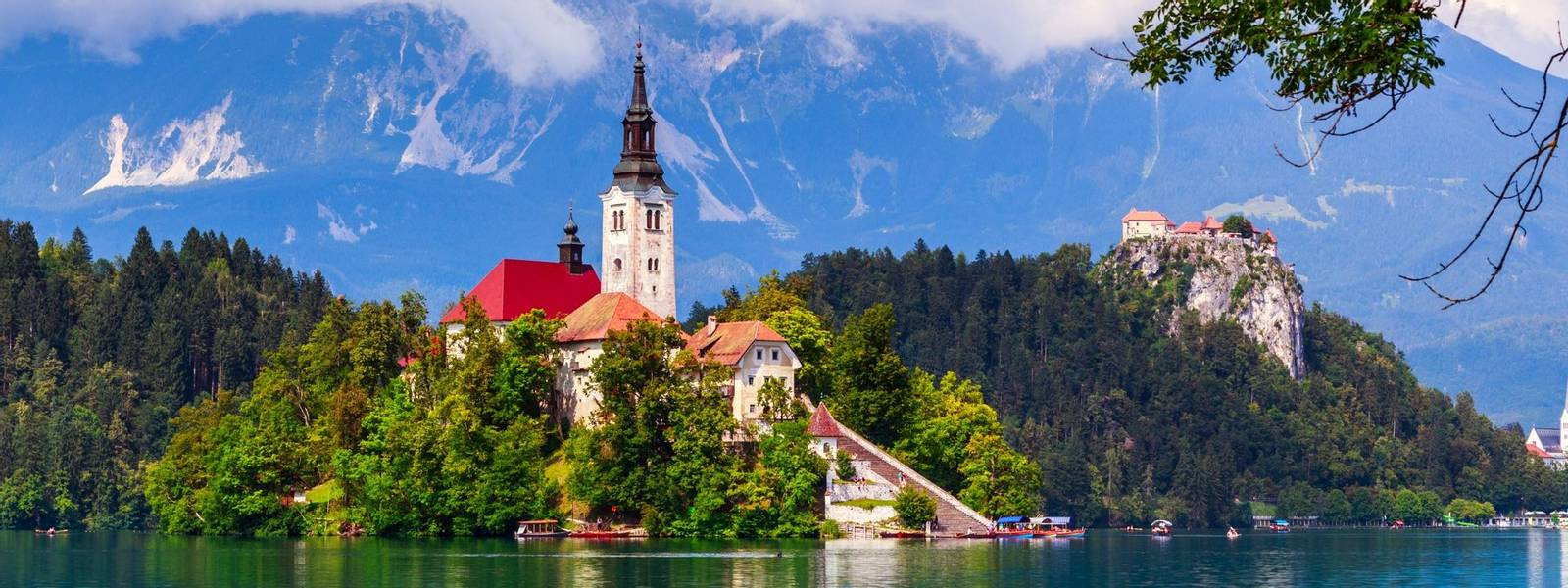 Bled lake summer