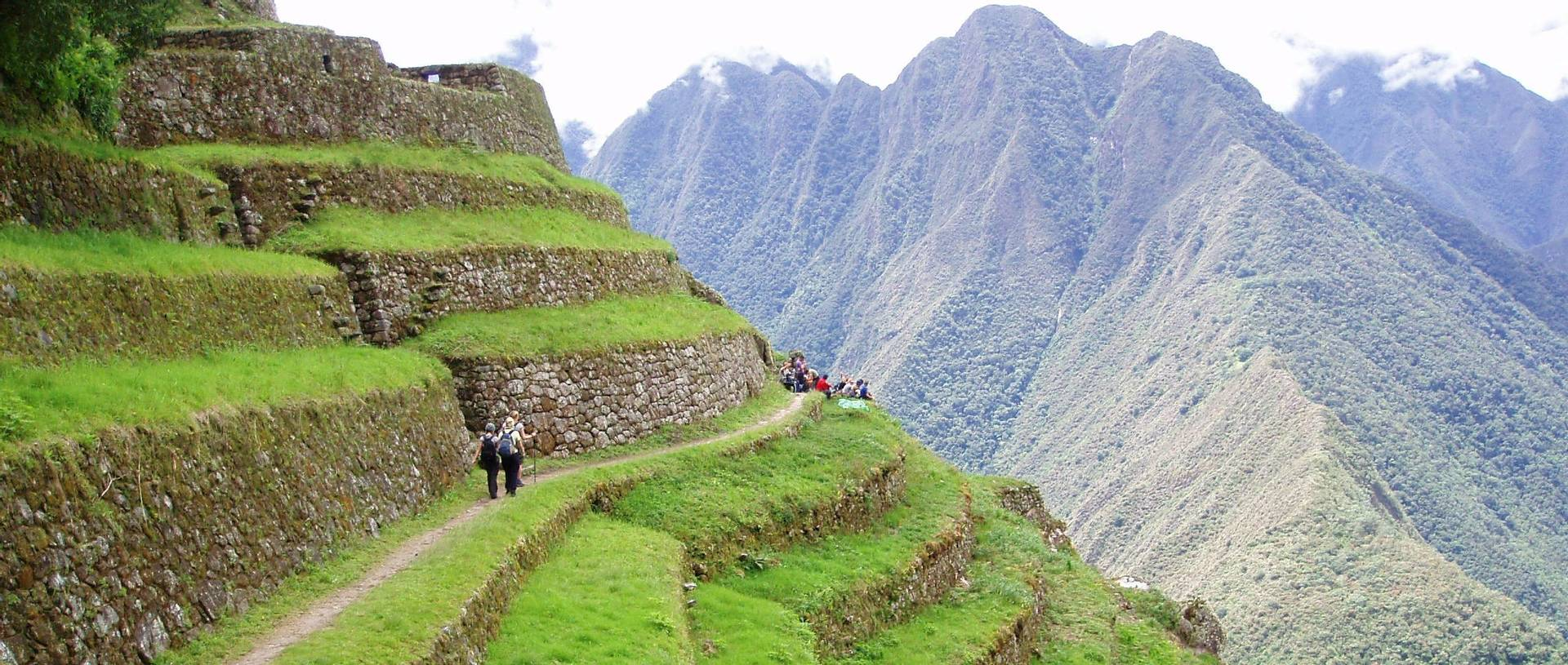 Hiking The Terraced Inca Trail