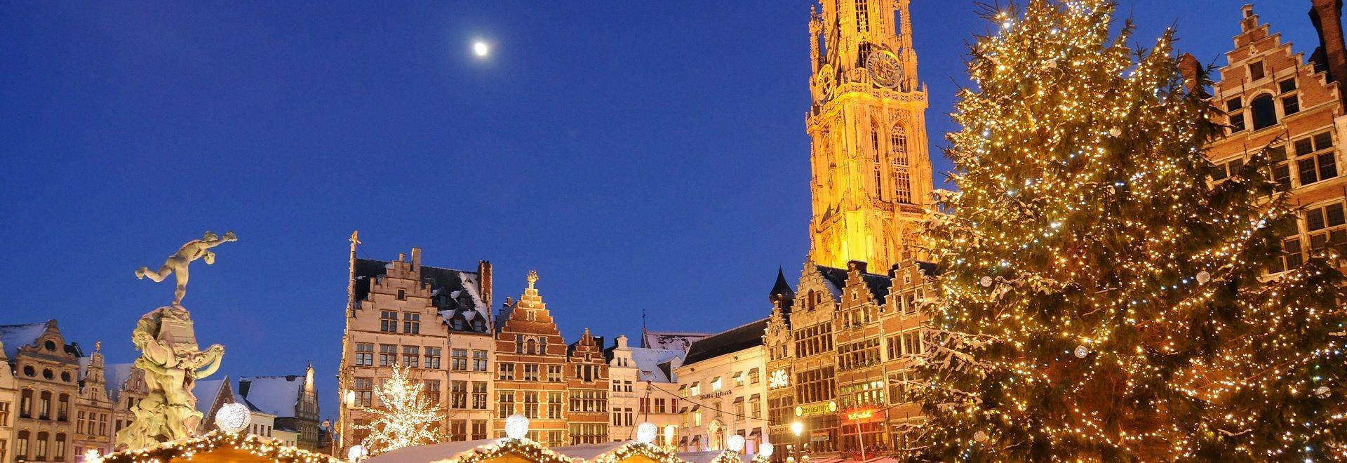 Explore The Delightful Christmas Market In Antwerp
