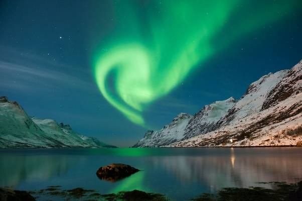 Northern Lights, Norway. Shutterstock 134218658