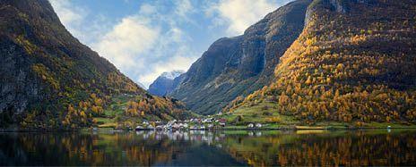 Majestic Norwegian Fjords Autumn Encounter