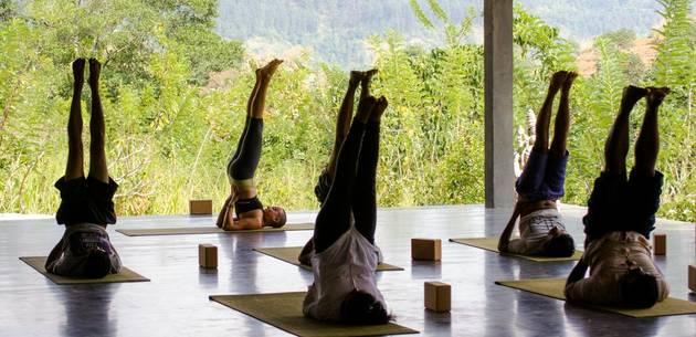 Yoga at Santani Wellness Resort & Spa