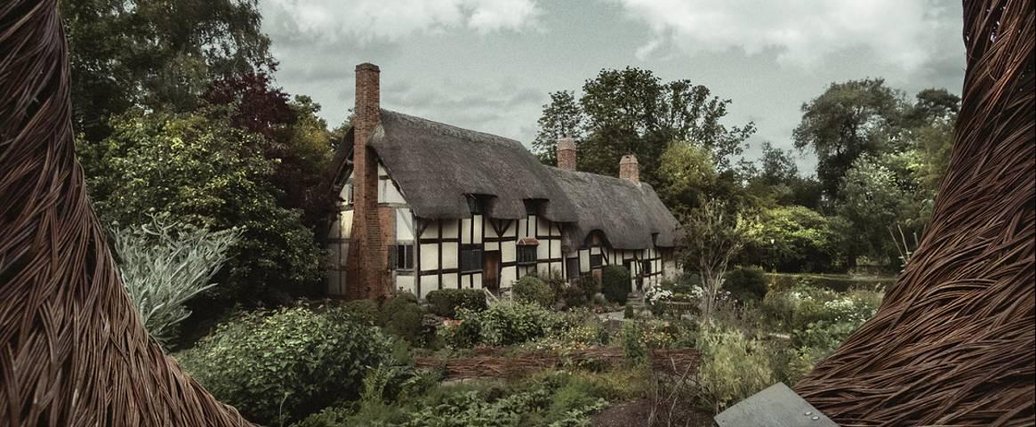 Anne Hathaway's cottage near Stratford-upon-Avon