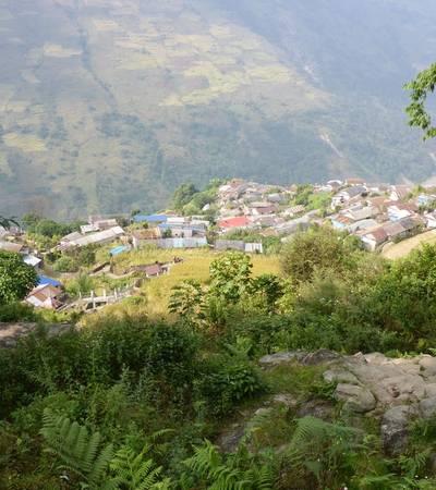 Tangting village (1,680m)