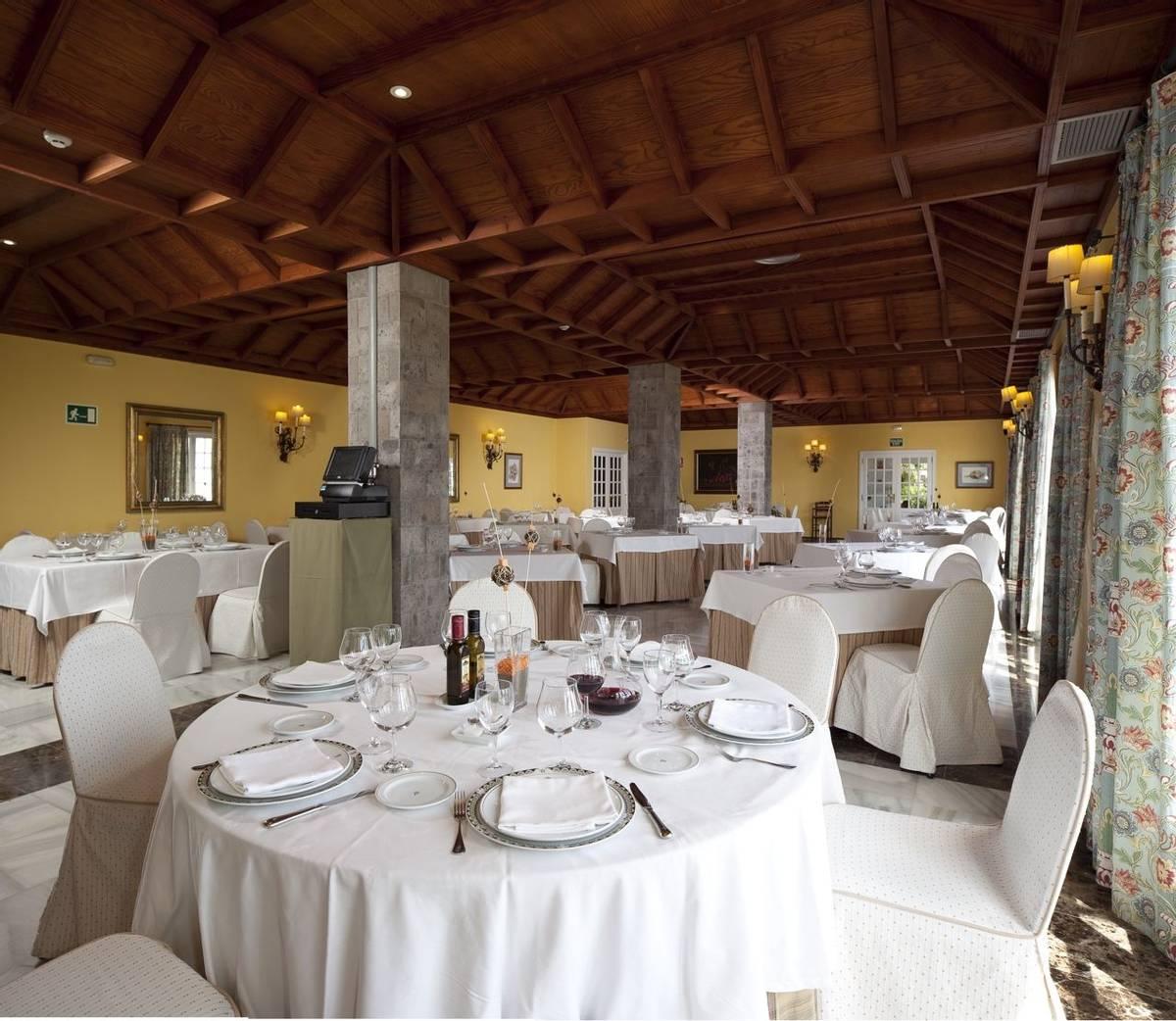 Spain - La Palma - Parador de La Palma -   47 restaurante.tif