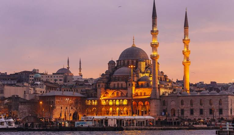 GettyImages 569029413 Yeni Cami (New Mosque) In Istanbul, Turkey