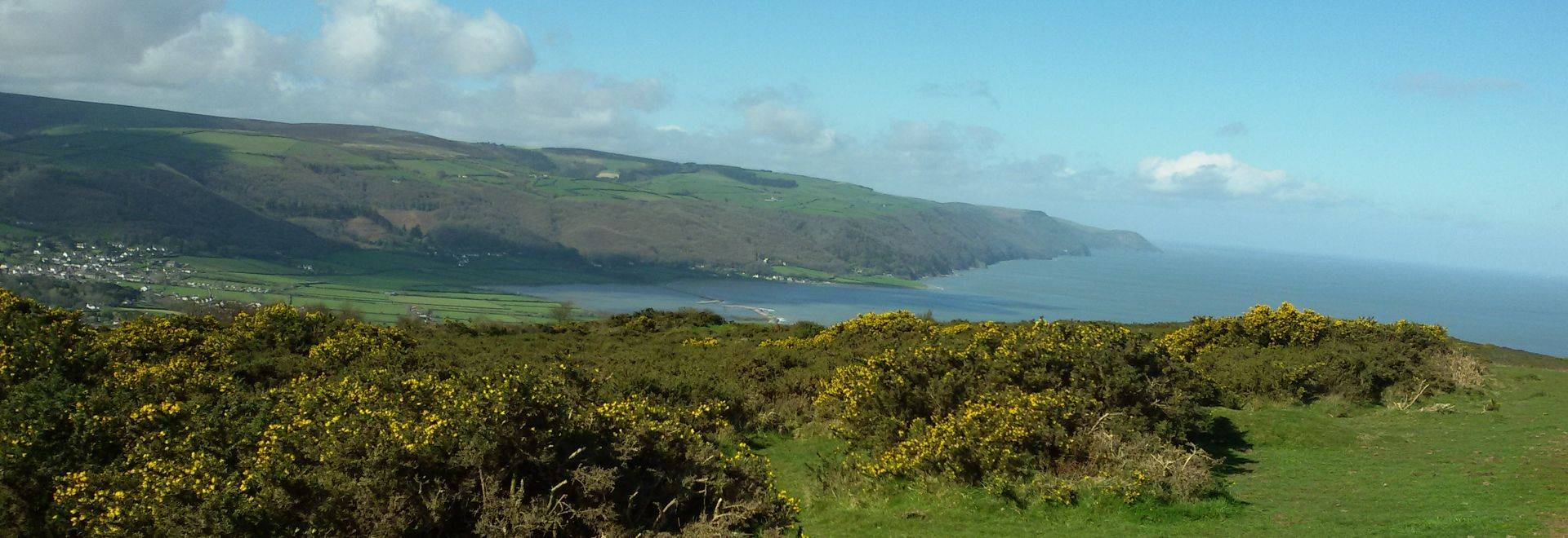 Coastal View From Bossington Hill SW