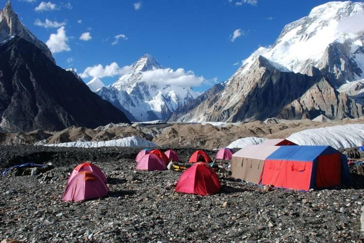 Concordia on K2 Base Camp trek in Pakistan