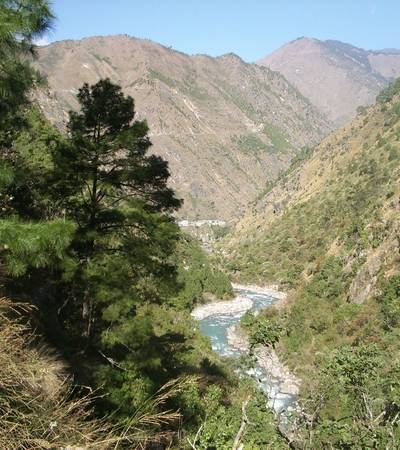 Dudh Khosi valley near Phakding