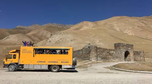 TBILISI to BISHKEK (59 days) Caucasus to Kyrgyzstan