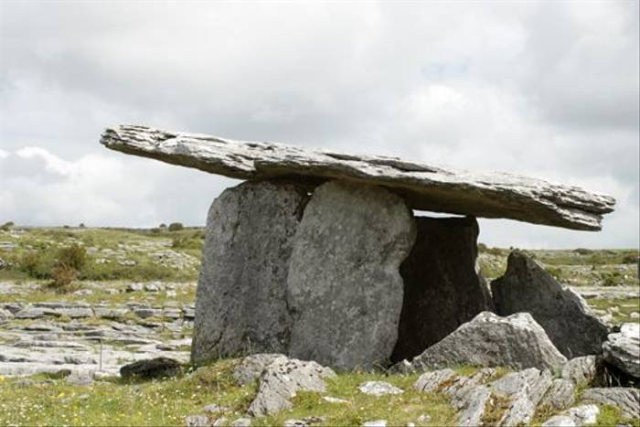 The Burren Dolmen (Maureen Ponting)