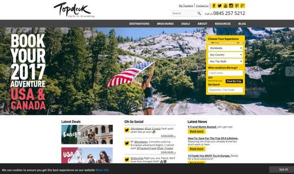 Topdeck Website