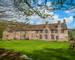 Wide view of the court from the west boundary wall