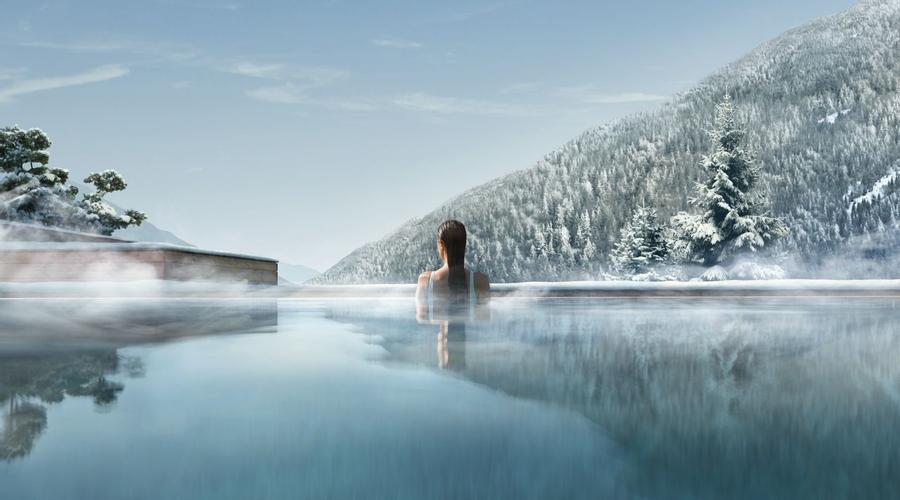 Infinity Pool at Lefay Dolomiti