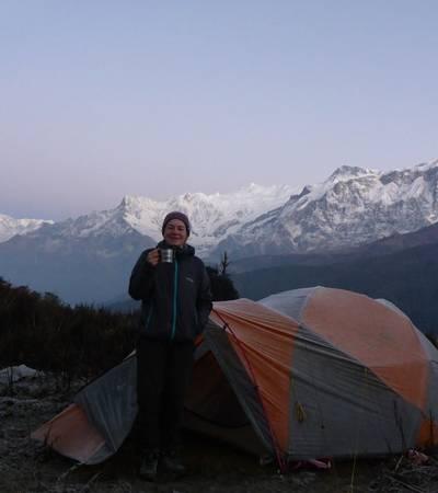 Camp at Haju Dobato (3,562m)