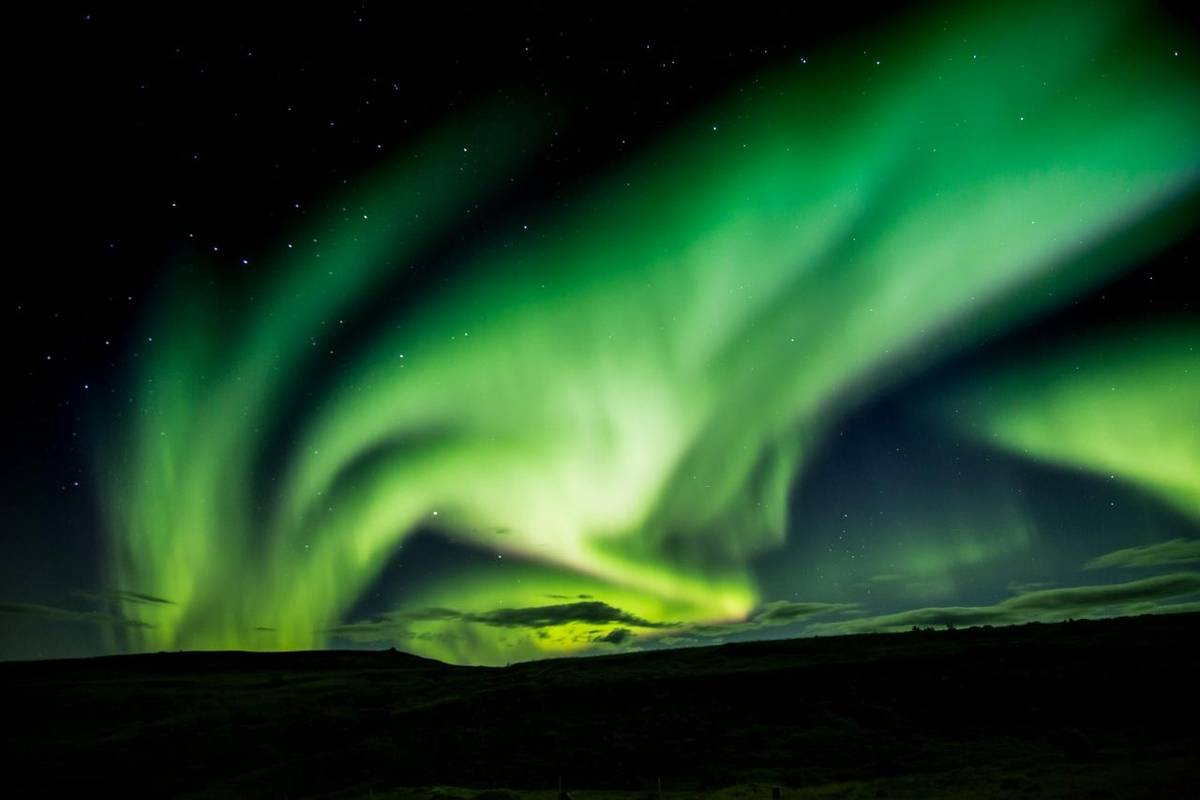 Aurora borealis, Sep '15 (Alun & Paula Williams)
