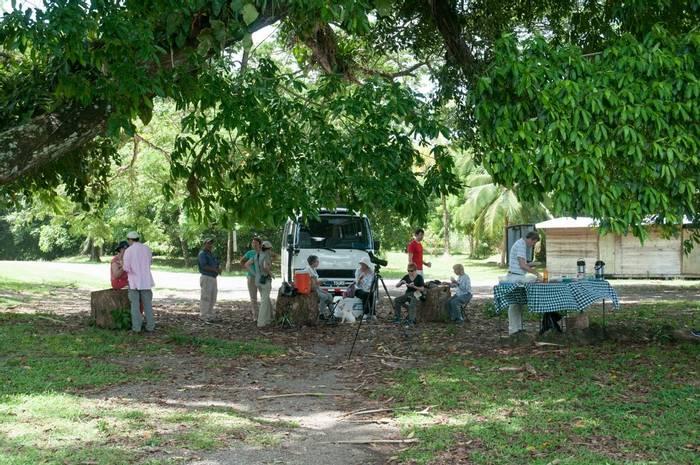 Picnic lunch at Fort San Lorenzo (Tarina Hill)