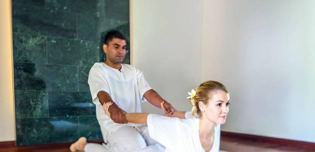 Yoga at Shanti Maurice