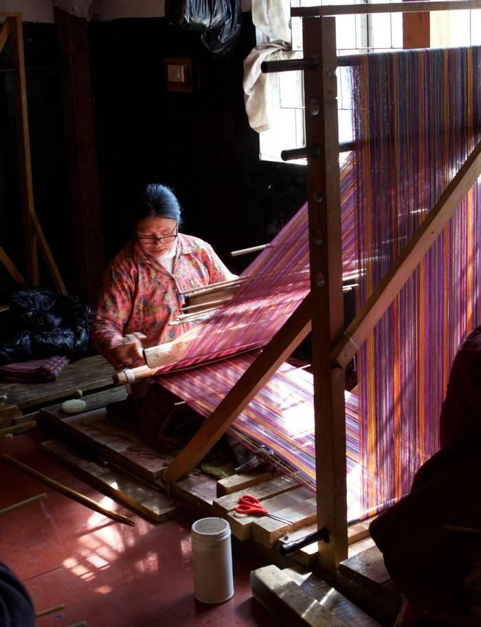 Traditional weaving (Liz Seeber)