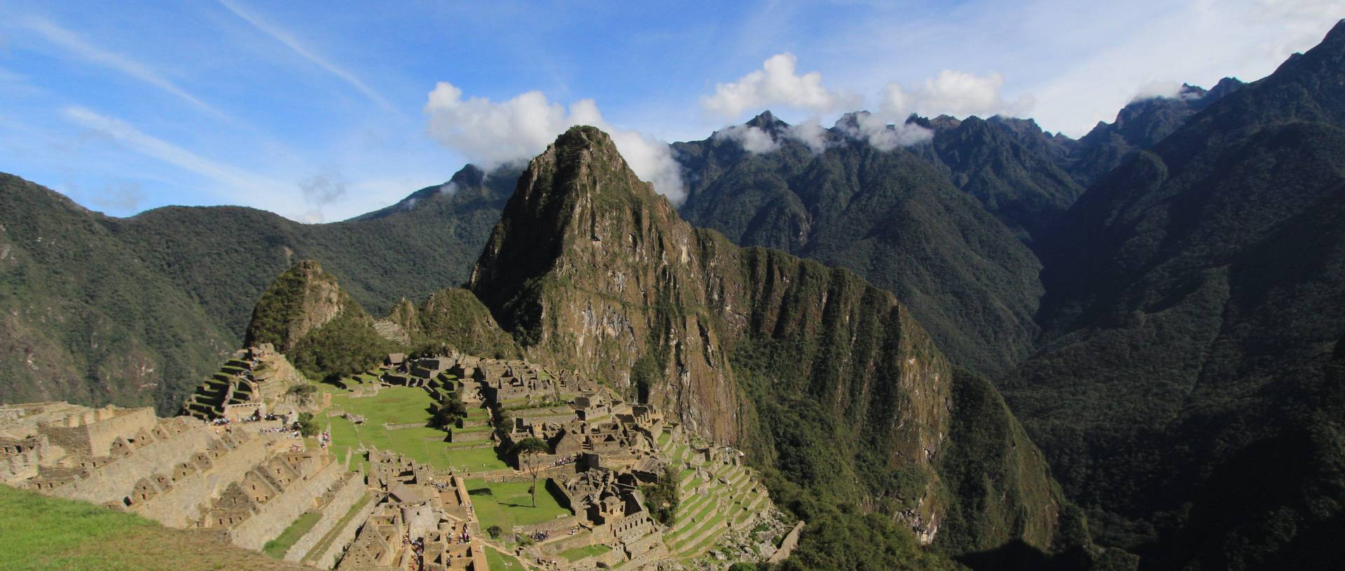 View of Machu Picchu whilst on the Inca Trek.JPG