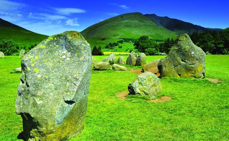 Standing Stones at Castle Rigg, Keswick