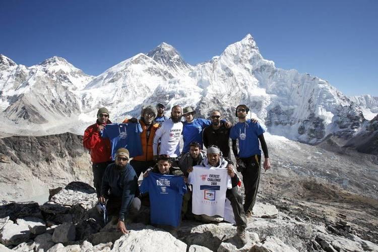 Kalapatar on Everest Base Camp trek in Nepal