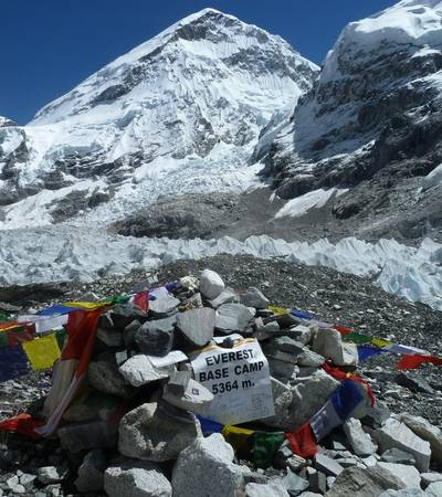 Everest Base Camp at 5,300m