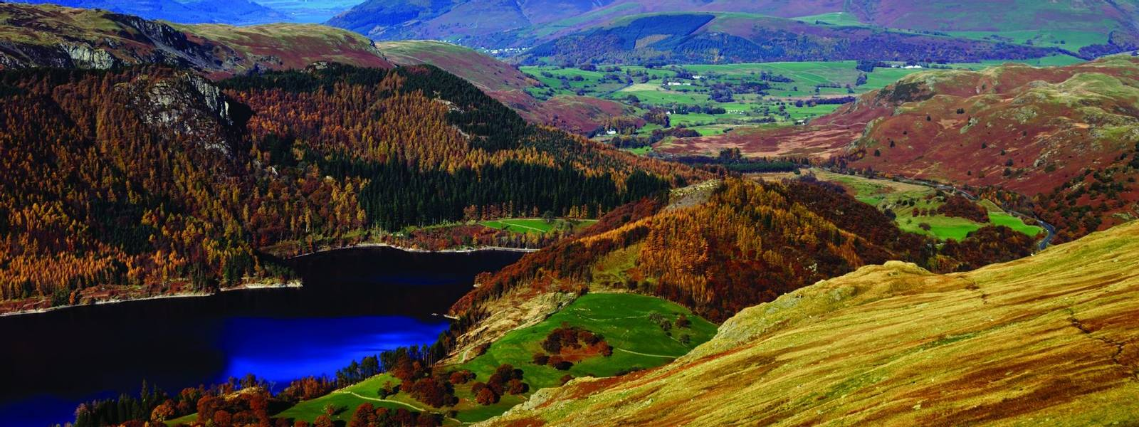Skiddaw & Thirlmere in Autumn