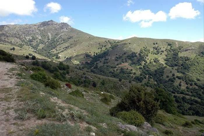 Hills surrounding Lake Kerkini (David Morris)