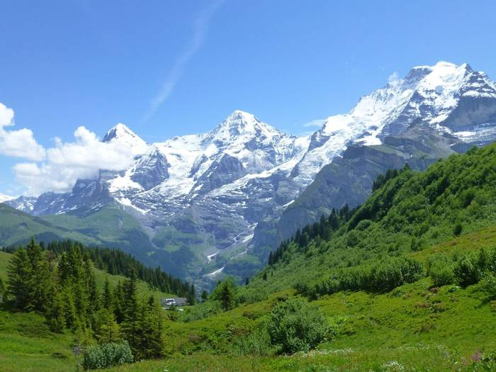 View from the Mountain View Trail, Murren (Kerrie Porteous)