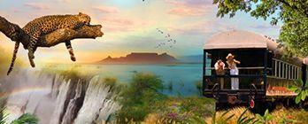 Ultimate South Africa Adventure: Zambezi Queen & Rovos Rail Explorer