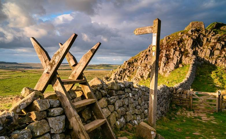 Hadrian's Wall is a UNESCO World Heritage Site in the beautiful Northumberland National Park. popular with walkers along the…