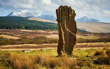 Arran - Island Hopping - Prehistoric Stone on Machrie Moor_AdobeStock_142950827