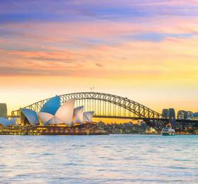 Sydney - Disembark Indian Pacific & Hotel Stay