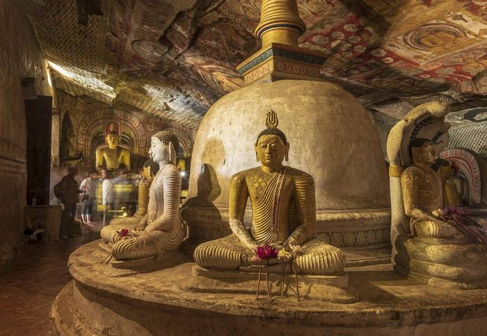 Temple At Kandy (John Archer Thomson)