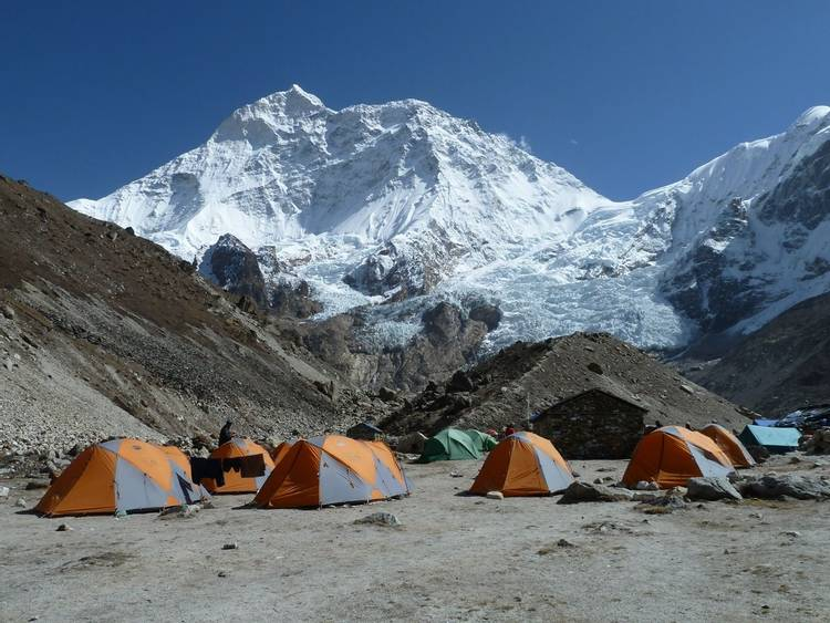 Makalu Base Camp in Nepal