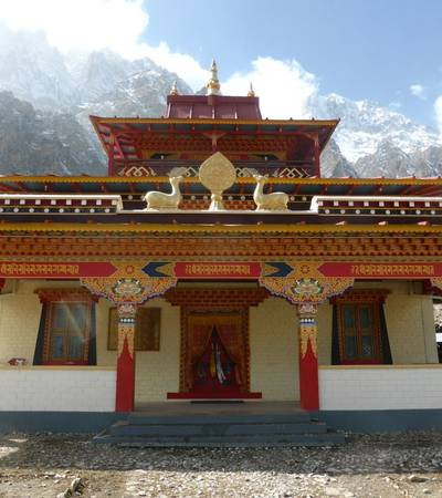 Nethang gompa below Naar village