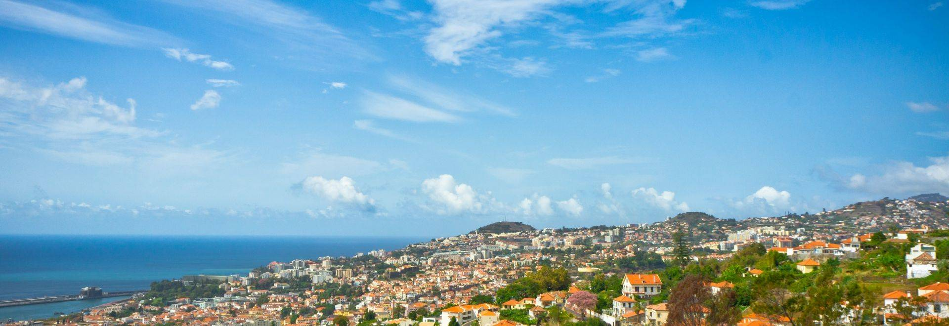 Shutterstock 132874115 Beautiful View Of Funchal