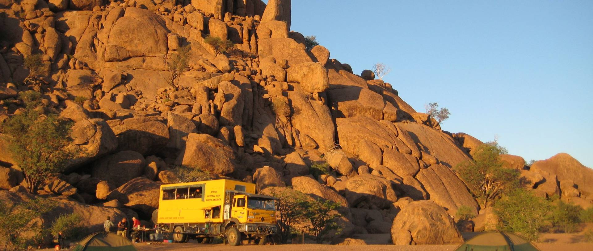 Camping At Spitzkoppe, Namibia