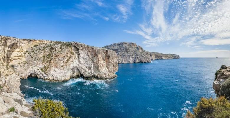 Malta guided walking holiday